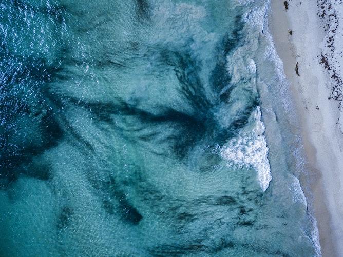 Perths' beach
