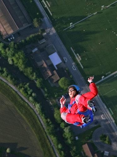 heli-skydive